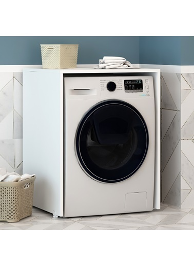 Fly Mobilya Parfe Çamaşır Makinesi Dolabı Renkli